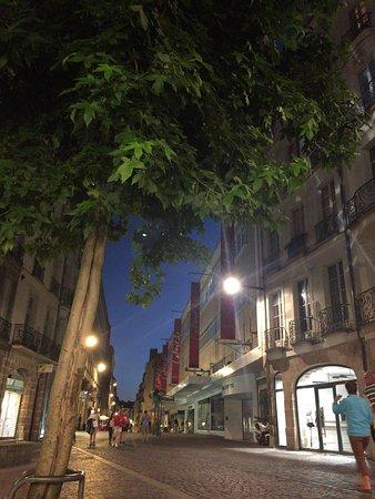 Appartements d'Hôtes Le Jeu et La Gourmandise : Nantes street