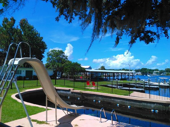 King's Bay Lodge: Summer Day in Florida!