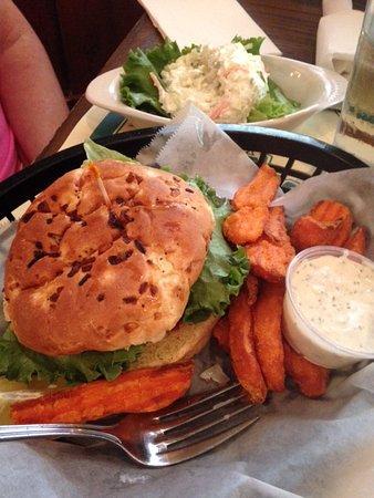Fort Mill, SC: Crab Cake Sandwich