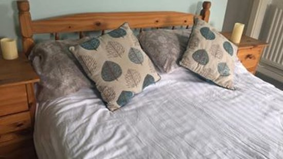 Capel Curig, UK: Typical double bed