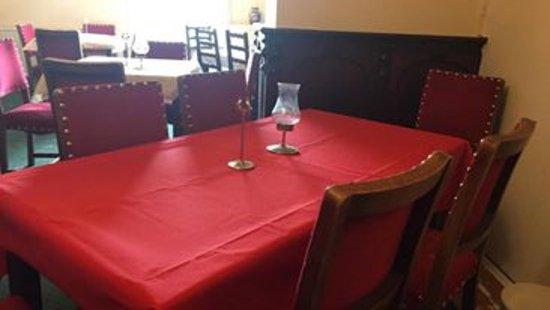 Capel Curig, UK: Dining room