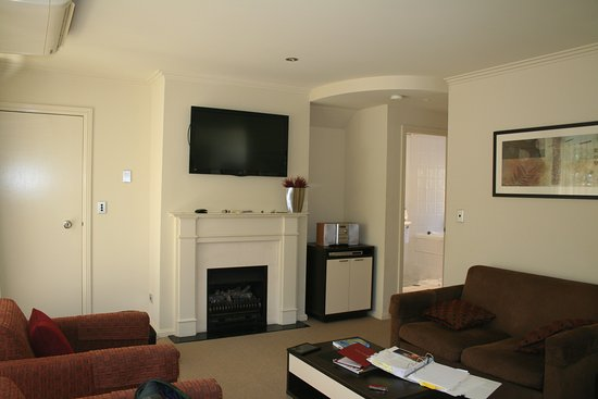 Wentworth Falls, Australia: Nice large living area