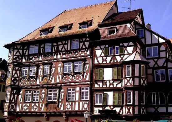 Mosbach, Γερμανία: Palmsches Haus mit Nachbar-Fachwerkhaus