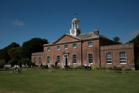 South Harting, UK: The stable and diary block at Uppark
