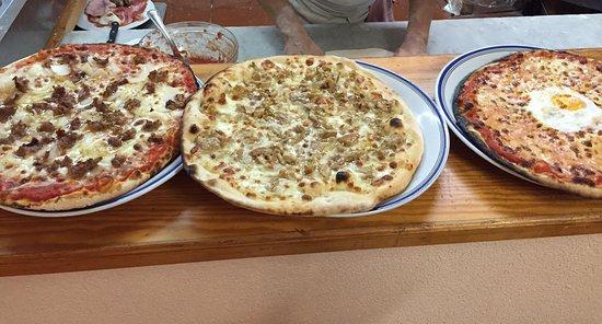 Monte Terminillo, Itália: pizze