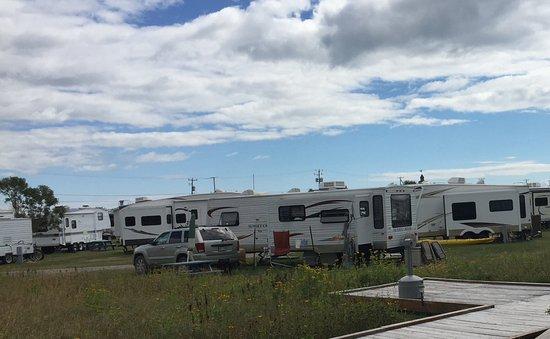 Bonaventure, Canada: Le camping voisin