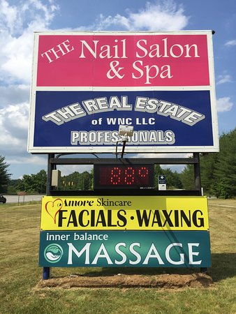 Mills River, Caroline du Nord : sign 2