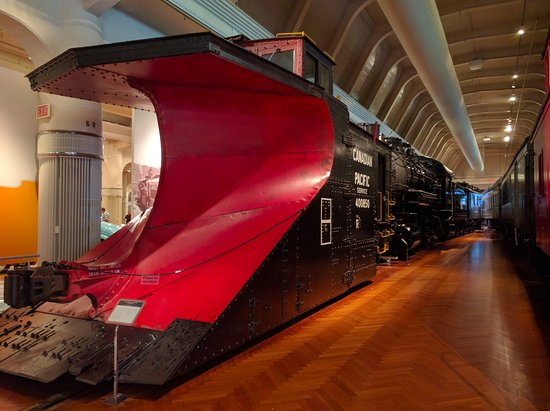 Snowplow engine - Picture of The Henry Ford, Dearborn