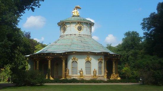 Parc de Sanssouci : Chinesisches Haus, The Chinese House