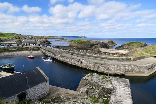 Ballintoy, UK: The harbour