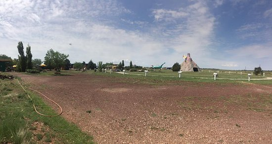 Williams, AZ: View from near restrooms