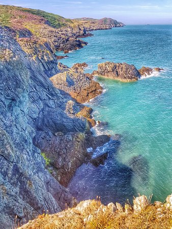 Amlwch, UK : Coastal path sea view
