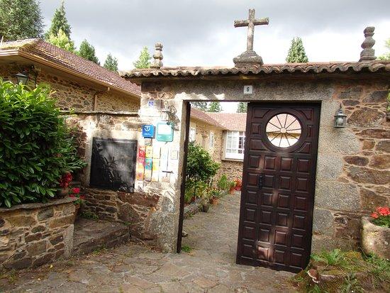 Lavacolla, Spanyol: Der Eingang zum Pazzo