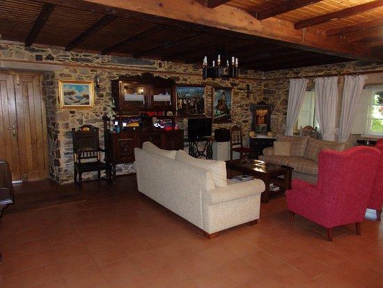 Lavacolla, Spanyol: Der erste Raum , der erste Eindruck.