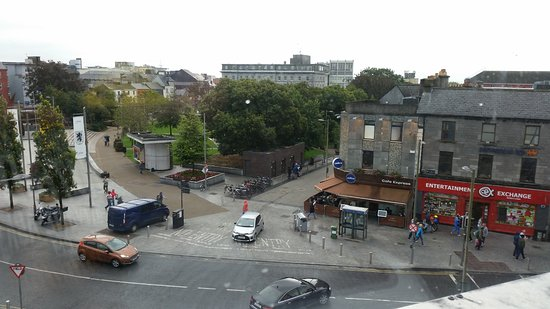 Imperial Hotel Galway: View from third floor room