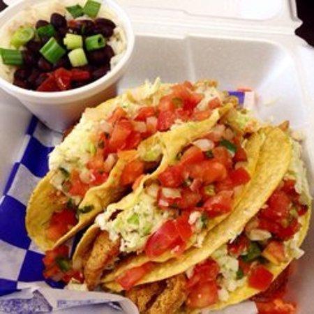El Dorado, AR: Fish Tacos.. Oh yes!