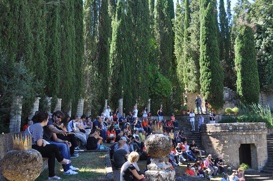 Montegabbione, Italia: visitatori