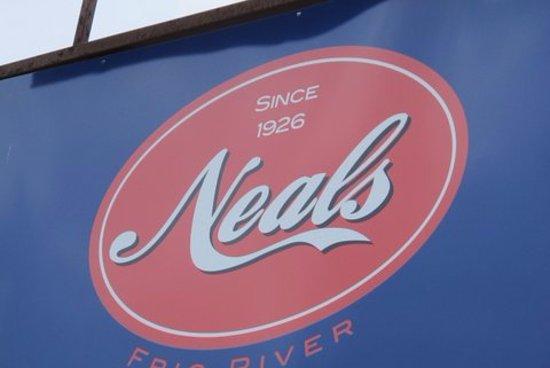Concan, Техас: Neals sign