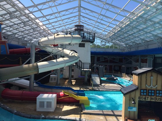 Cape Codder Resort & Spa: The new indoor water park.