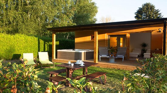 La Boissiere-Ecole, Francia: spa privé