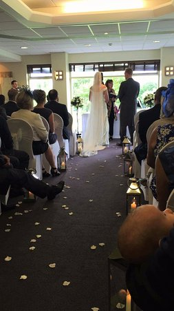 Macclesfield, UK: Wedding ceremony