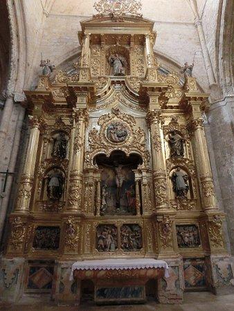 Tamara de Campos, Espagne : Retablo de la iglesia1
