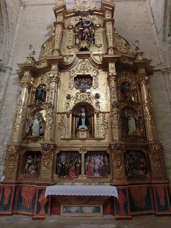 Tamara de Campos, Espagne : Retablo de la iglesia2