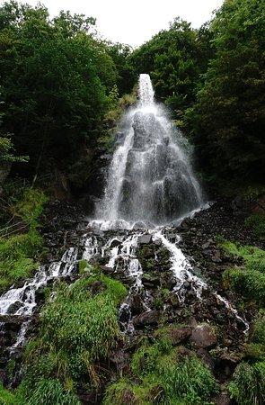 Trusetal, Tyskland: Der Wasserfall