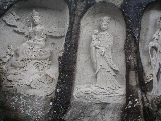 Changyu Stone Cave: Deusa da compaixão