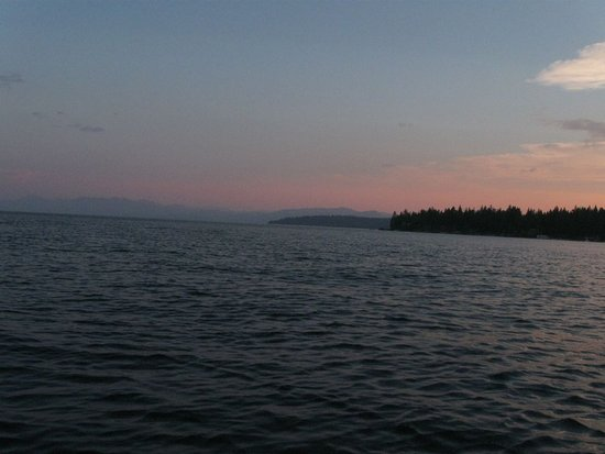 Tahoe Vista, CA: Maybe 30min after sunset.