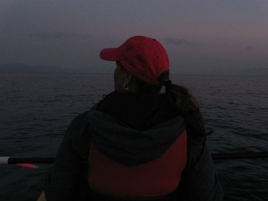 Tahoe Vista, CA: It gets pitch dark - especially before moonrise - so wear layers.