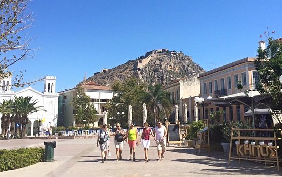 Peristeri, Greece: The beautiful city of Nafplio