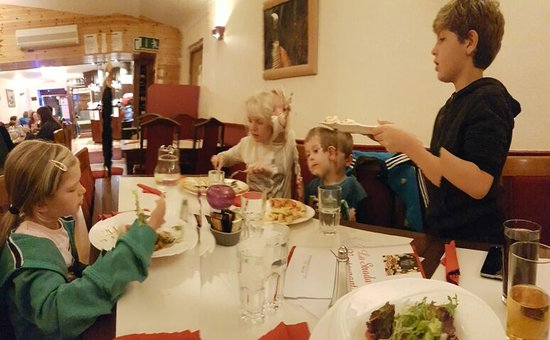 Ennis, Irlandia: Good food, good service 😉