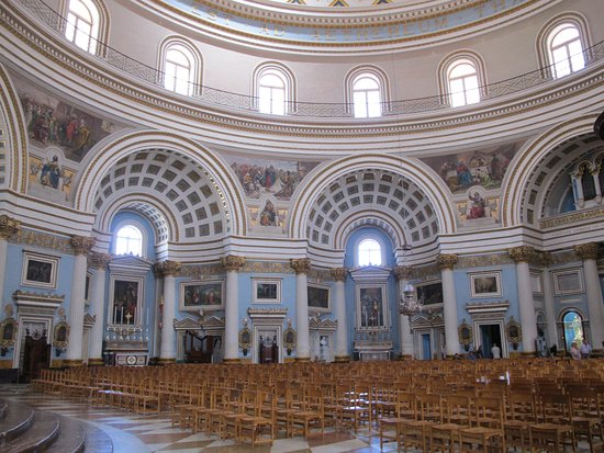 Mosta, Malta: Beautiful interior