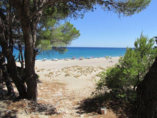 L'Hospitalet de l'Infant, Spain: Еще один вид пляжа