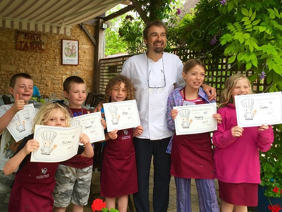 Saint-Cyprien, Prancis: Great day cooking at Le Chevrefeuille