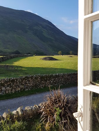 Burnthwaite Farm : View from the room.