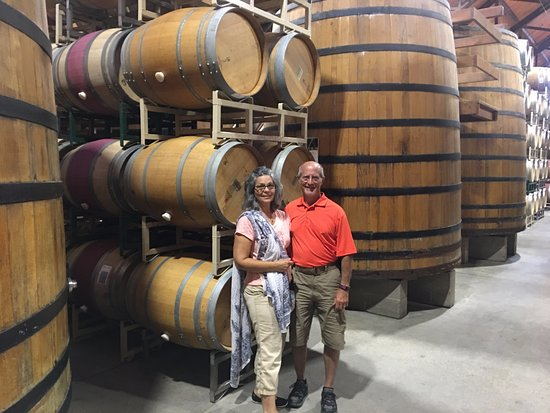 Solvang, CA: This is on our tour of the Firestone Winery (included in the price).