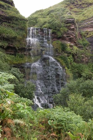 Arran Wild Walks: Waterfall near Kildonan