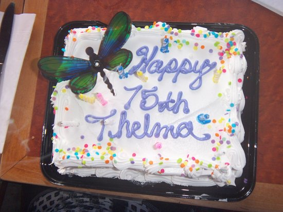 Brantford, Kanada: The lovely cake we were allowed to bring in.