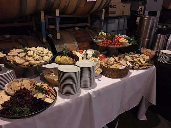 Camino, CA: Private catered event, they can do it all!