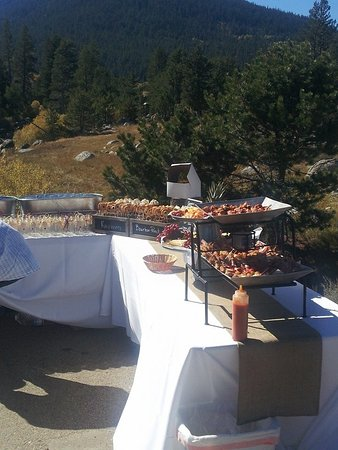 Camino, Kaliforniya: Catered event off-site