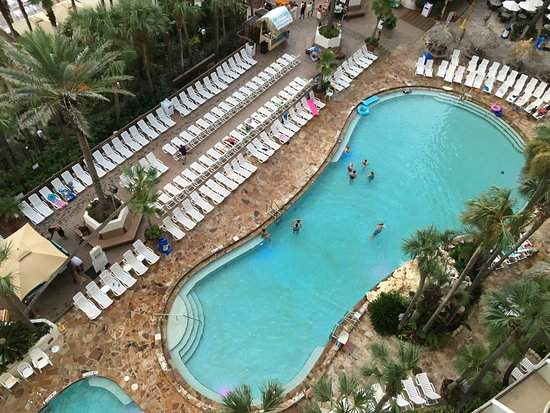 Holiday Inn Resort Panama City Beach Pool Goes To About 5 Deep In The