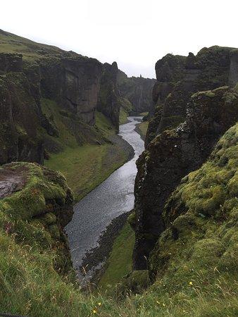 Kirkjubaejarklaustur, Islandia: Fjadrargljufur Canyon