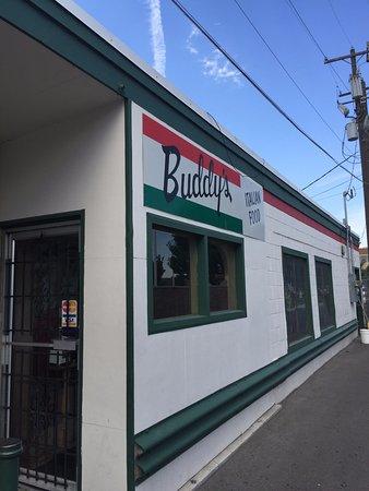 Pocatello, ID: Outside of restaurant