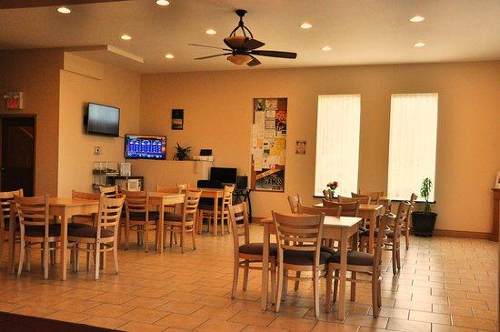 Lone Star Hotel : Breakfast area
