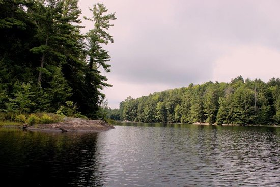 Haliburton, Canada: Big East Lake