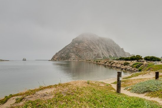 The Landing at Morro Bay: Morro Rock