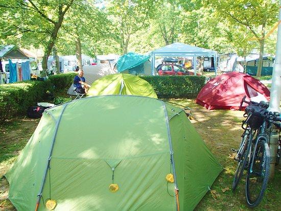 Balatonalmadi, ฮังการี: camping area