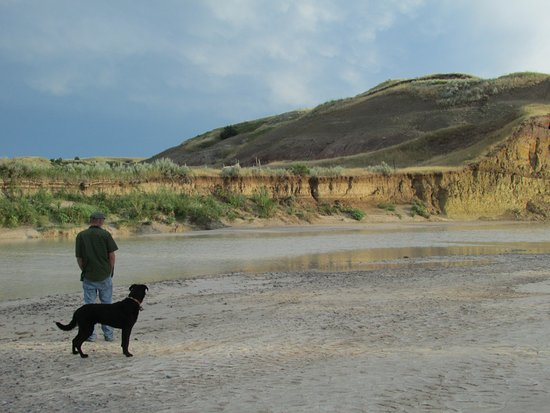 Interior, Dakota del Sur: Walking the banks of the White River